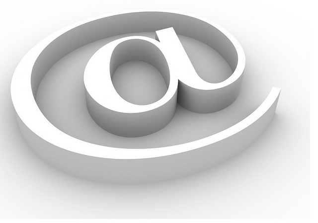 rendered three-dimensional symbol of e-mail